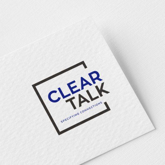 Σχεδιασμός Λογοτύπου για την εταιρεία Clear Talk στην Αθήνα.