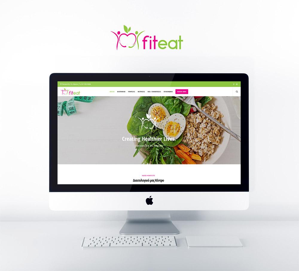ΚατασκευήΙστοσελίδαςγιατηνδιαιτολόγο διατροφολόγοΕλένηΚαραπιπέρη(FitEat)